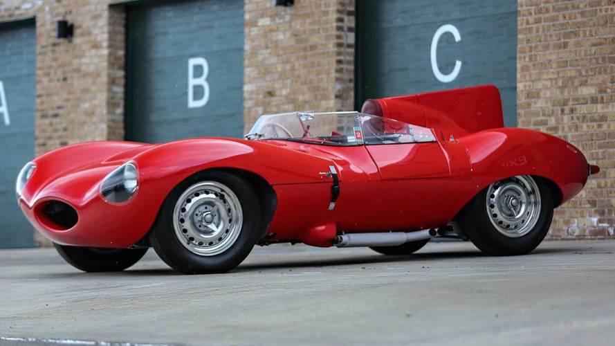 1956 Jaguar D-Type Could Go For $10 Million At Auction