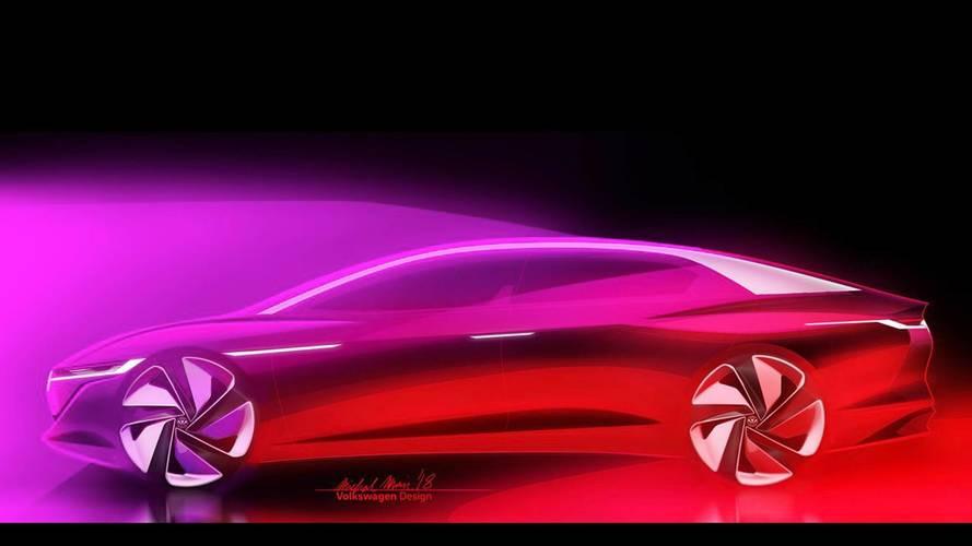 Volkswagen teases I.D. Vizzion concept for Geneva