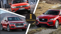 World Car of the Year 2017, le tre finaliste