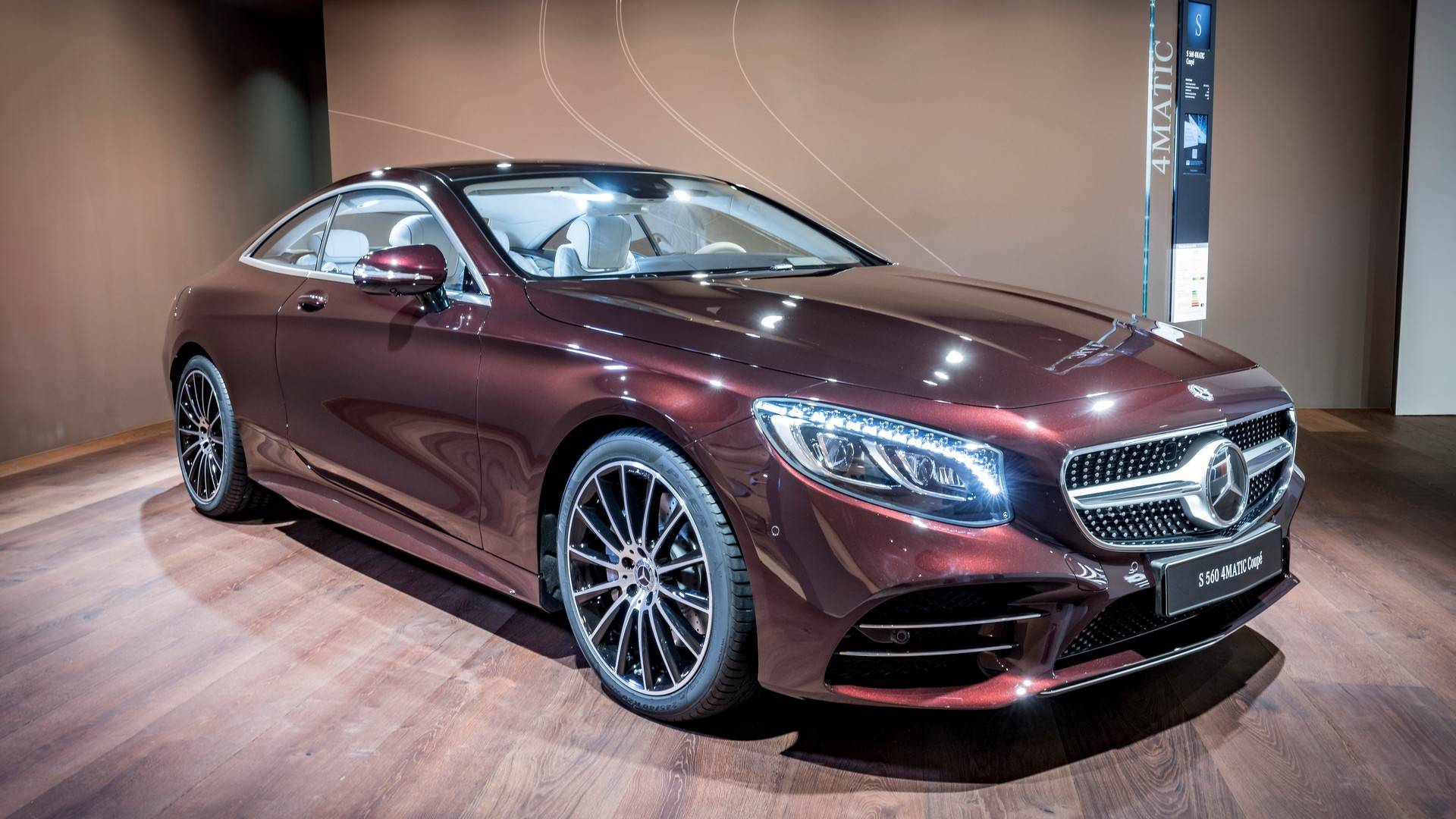 Refreshed 2018 Mercedes Benz S Class Mercedes Amg S63