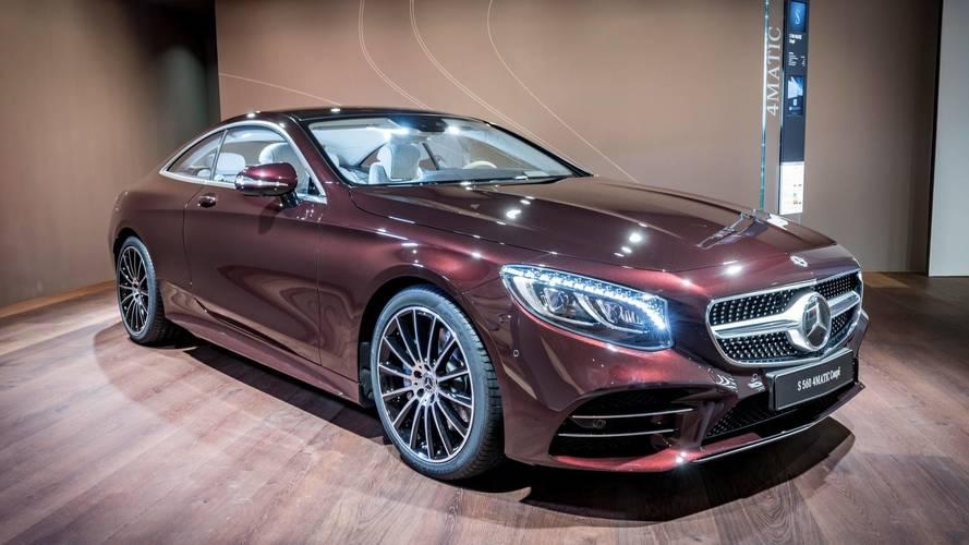 Mercedes S-Serisi Coupe ve Cabrio'ya yeni lüks donanım seçeneği