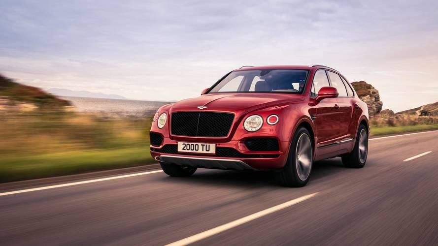 Bentley Bentayga V8 (2018)
