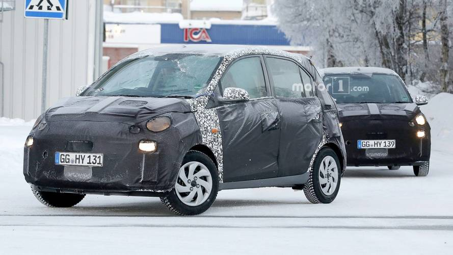 Minuscule Hyundai Santro Spied In Europe, But It's For India