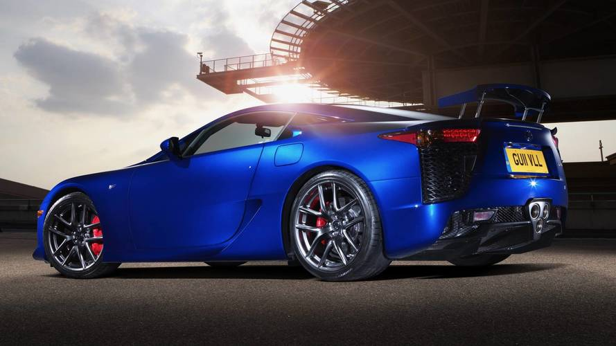 Motor1.com Legends: 2010 Lexus LFA