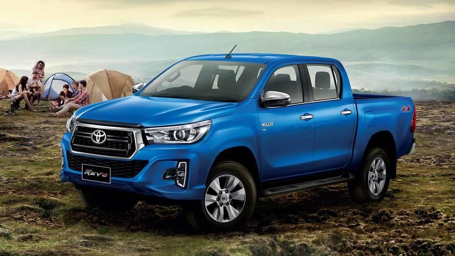 Toyota Hilux ganhará novo visual no Brasil no 2º semestre