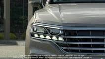 Teaser VW Touareg