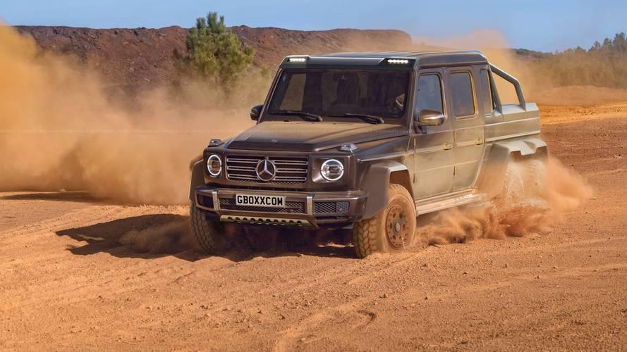 Yeni Mercedes G-Serisi'nin 6x6 versiyonunu hayal etmek zor değil