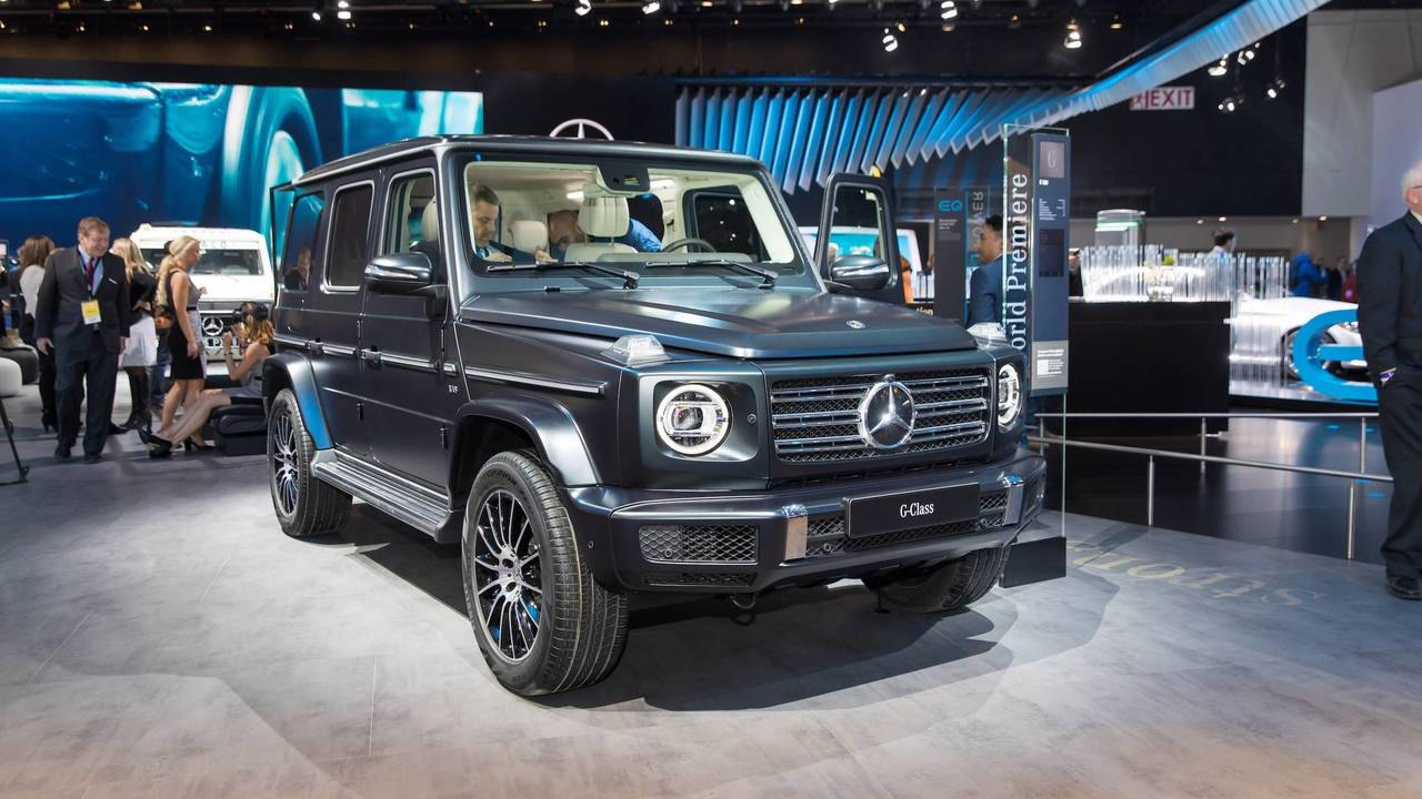 2019 mercedes benz g class just as rugged much more refined. Black Bedroom Furniture Sets. Home Design Ideas