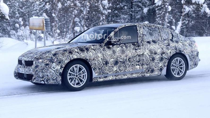 2019 BMW 3 Series Spied Looking Like A Smaller 5 Series