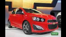 Chevrolet Sonic RS de 138 cv chega ao México pelo equivalente a R$ 46,5 mil