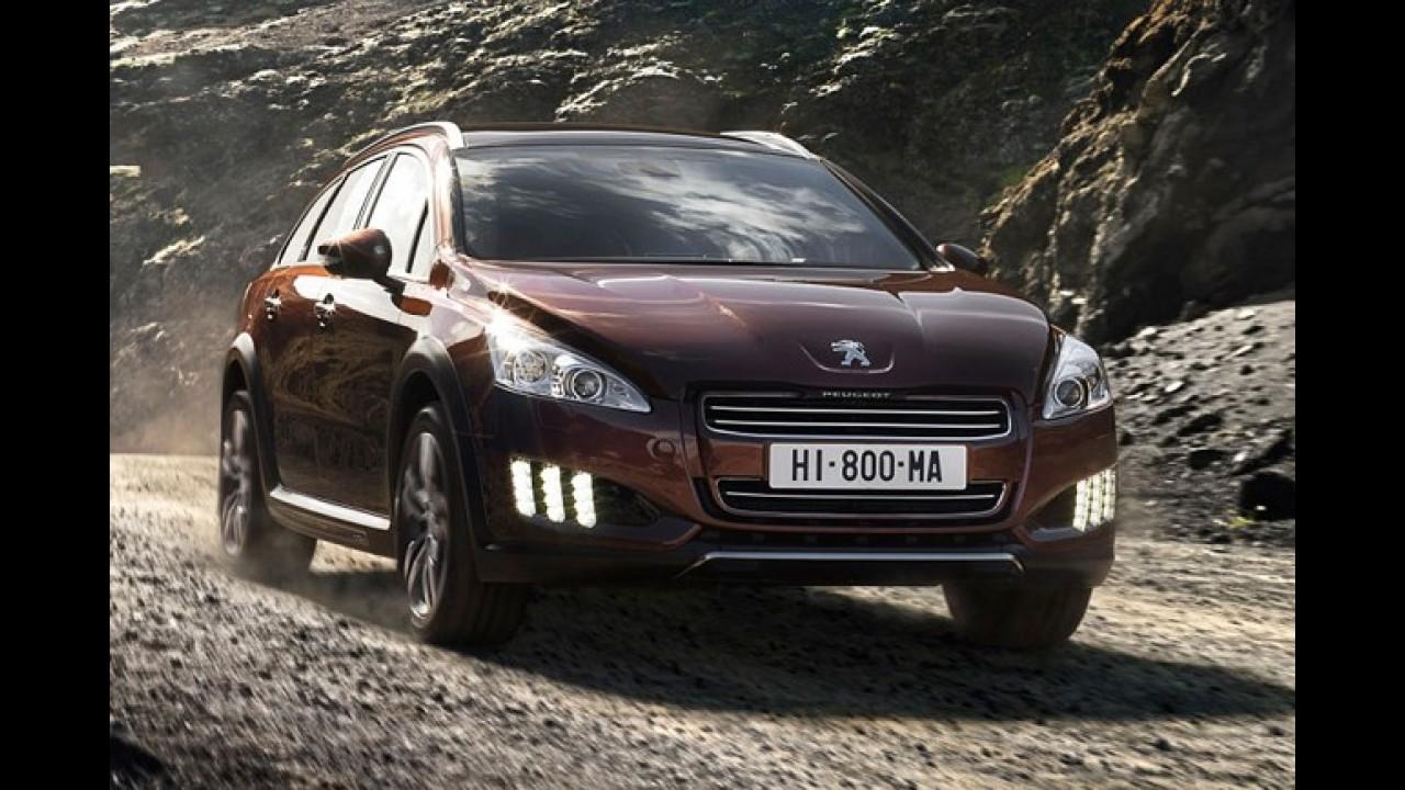 Peugeot comercializa 300 unidades da perua 508 RXH em apenas três dias de vendas