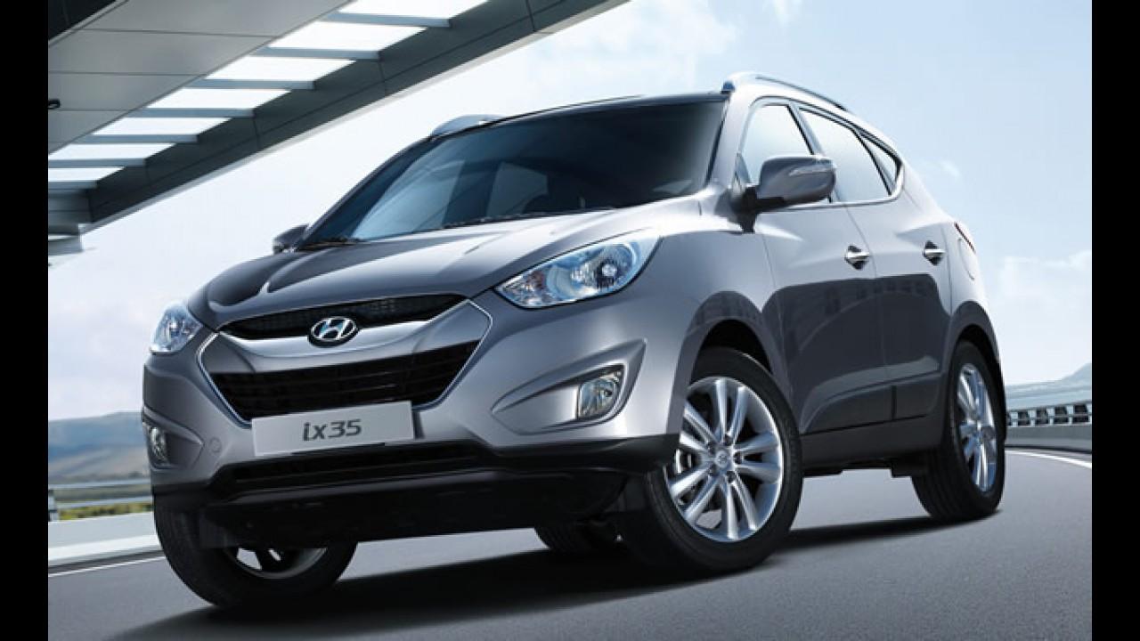 Nacional: Hyundai ix35 será fabricado no Brasil a partir de 2012, mas Tucson segue em linha