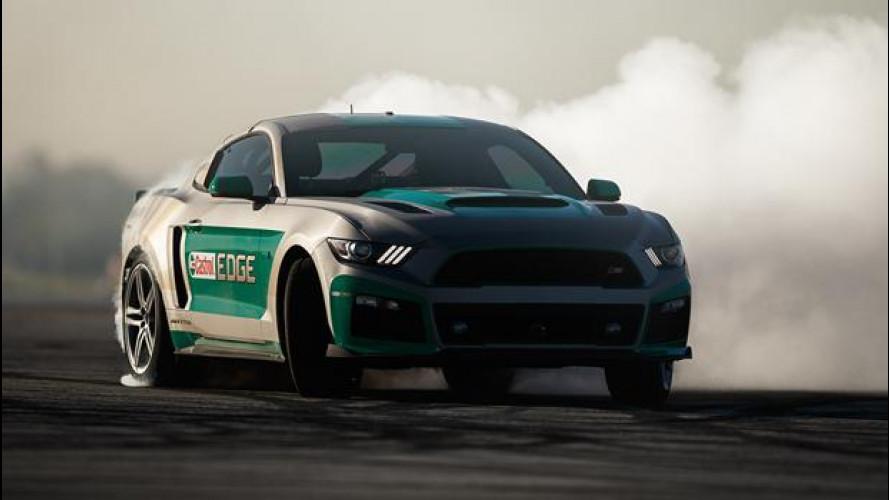 Nuova Ford Mustang, il drift è un videogioco [VIDEO]