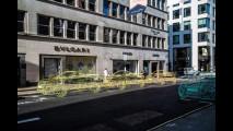 Range Rover Evoque Convertible, a Londra c'è già… come scultura