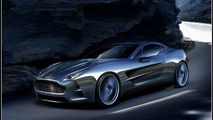 Aston Martin One-77 Artists Rendering