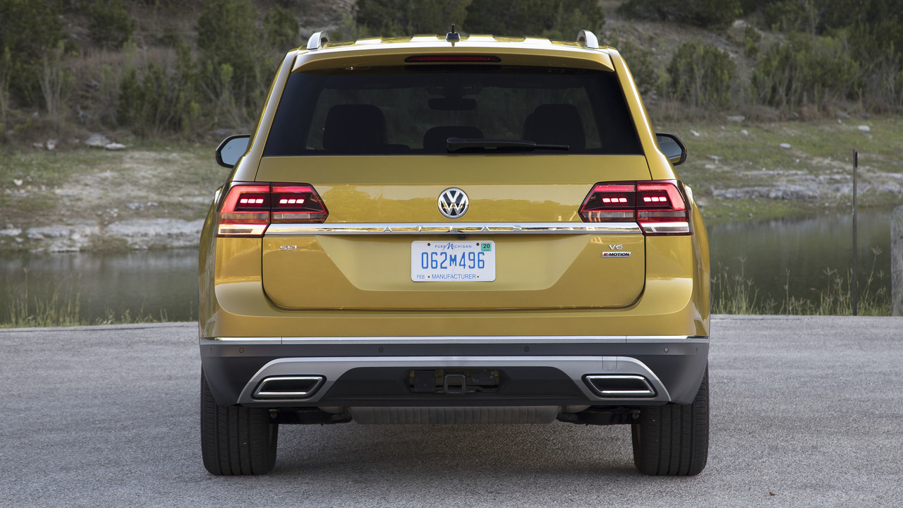 2018 Volkswagen Atlas Second Drive The All American Cuv
