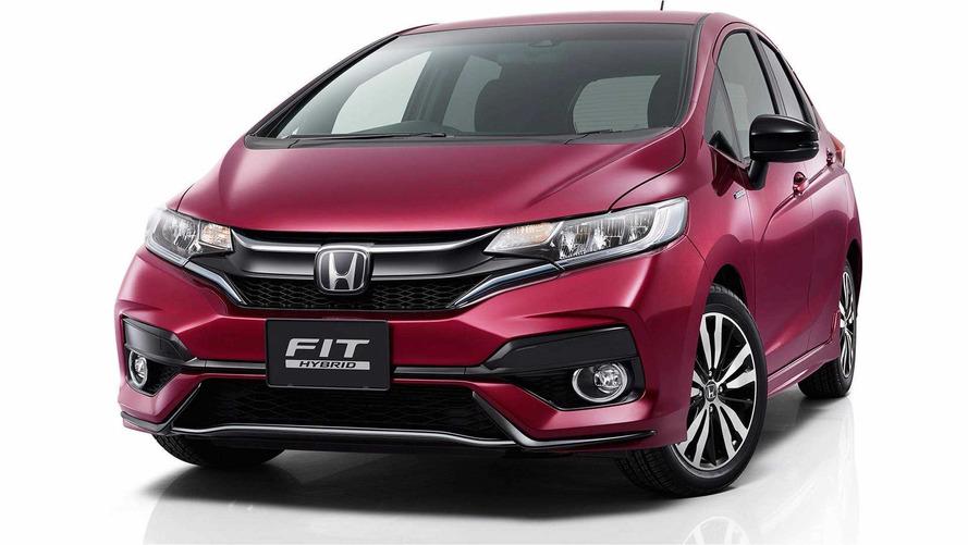 Honda Fit 2018 é revelado com retoques no visual