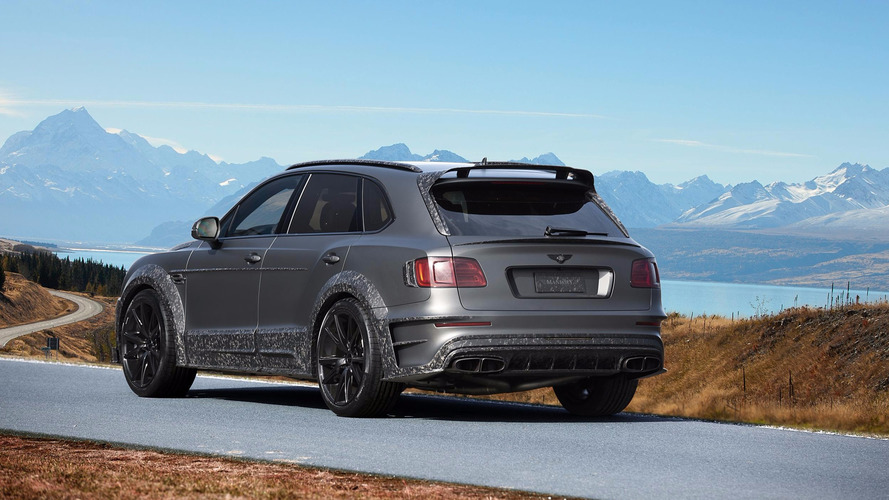 Bentley Bentayga Black Edition by Mansory