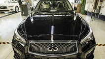 2018 Infiniti Q50 production