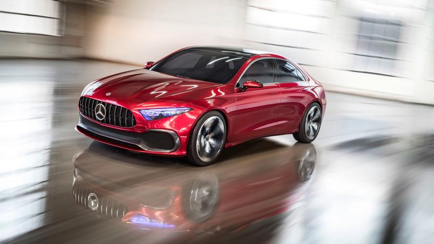 El Mercedes Clase A Sedan Concept 2017 muestra el futuro del compacto alemán