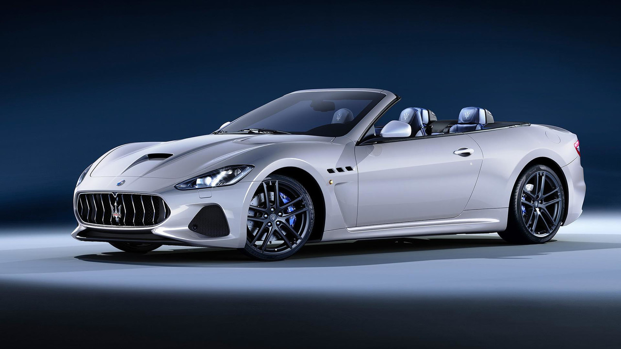 2018 maserati granturismo convertible debuts at goodwood. Black Bedroom Furniture Sets. Home Design Ideas