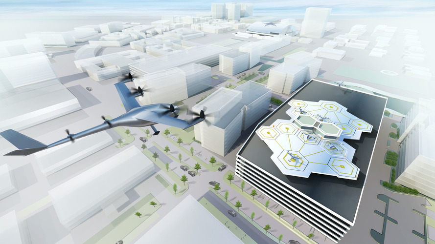 Uber Announces Flying Taxis In Texas And Dubai By 2020