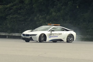 A Drifting BMW i8 Making Glorious Clouds of Tire Smoke [Video]