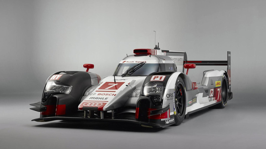2015 Audi R18 e-tron quattro breaks cover with several improvements