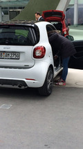 2016 Smart ForTwo Brabus spy photo