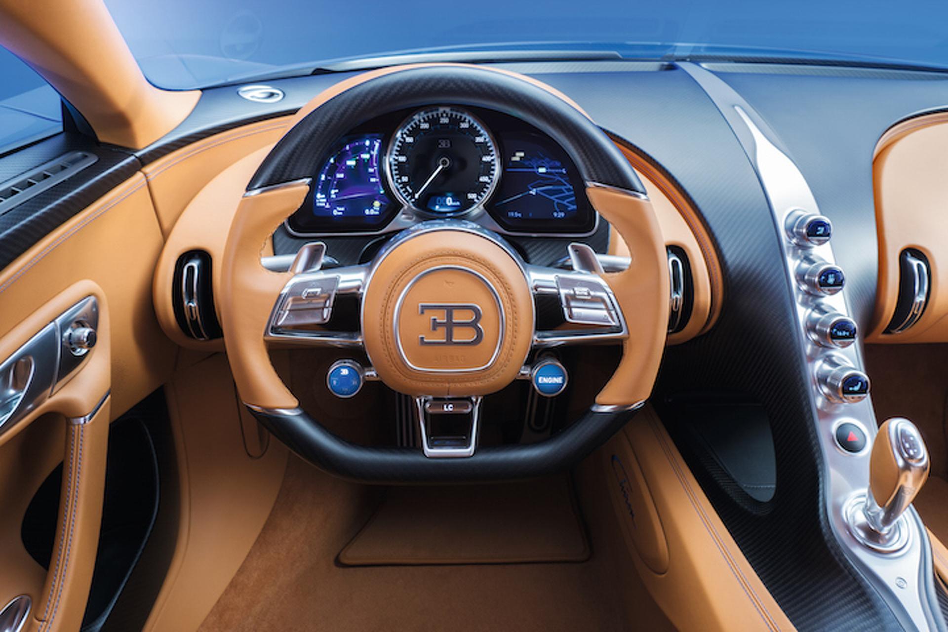 Take A Degree Video Tour Of The Bugatti Chiron S Opulent Interior