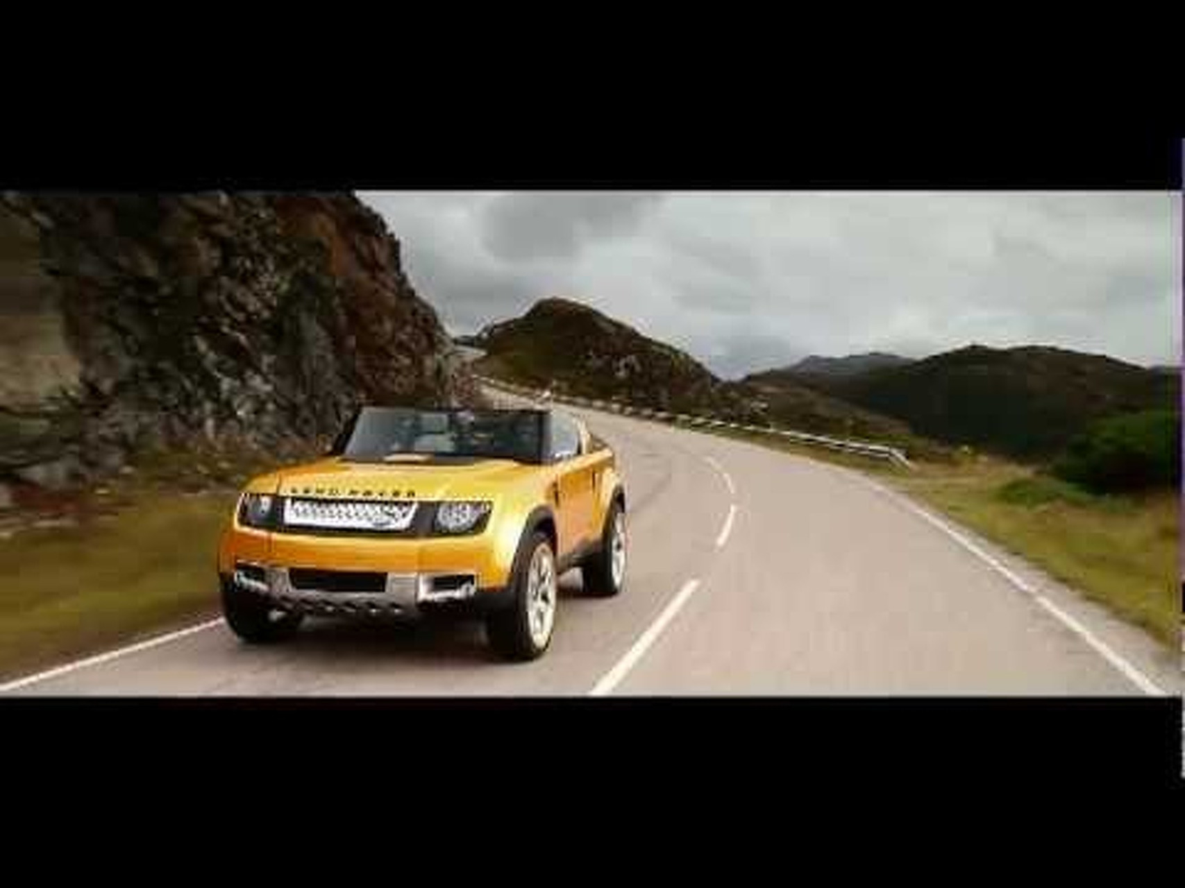 2011 Land Rover DC100 Sport Concept Driving