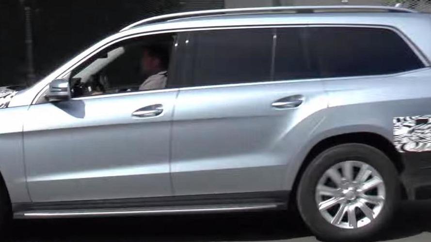 2016 Mercedes-Benz GLS spied driving slowly [video]