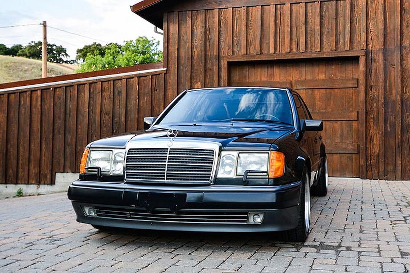 This rare mercedes 500e is the benz that porsche built for Mercedes benz 500 e