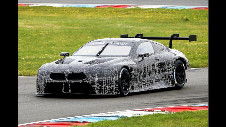 BMW M8 GTE: Super-Achter