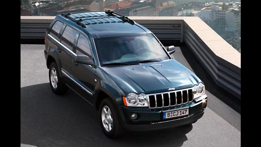 Jeep Grand Cherokee: Sondermodell zum Geburtstag