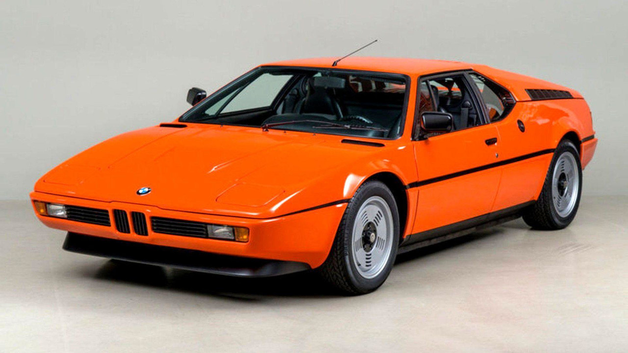 cette rare bmw m1 orange est vendre. Black Bedroom Furniture Sets. Home Design Ideas