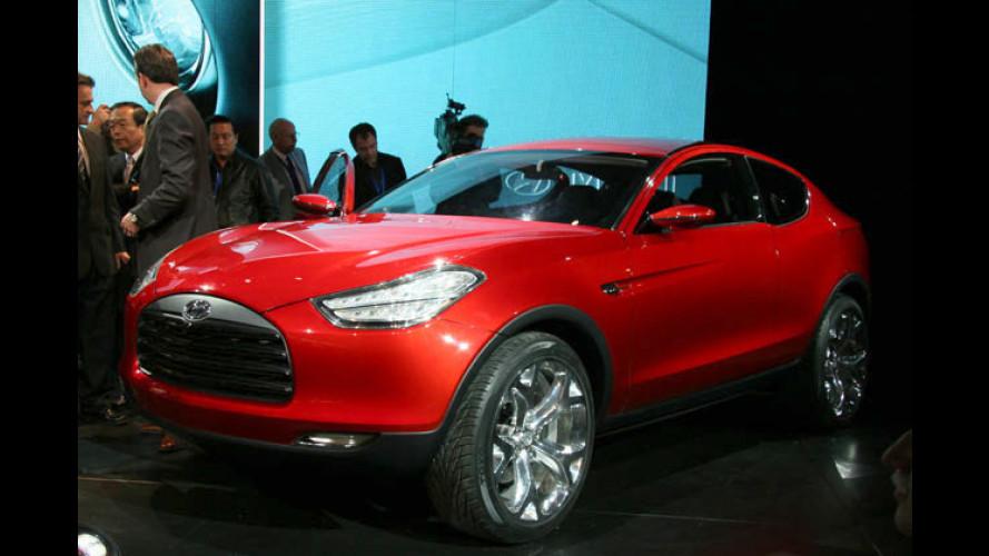 Hyundai stellt SUV-Coupé-Studie HCD-9 Talus in Detroit vor