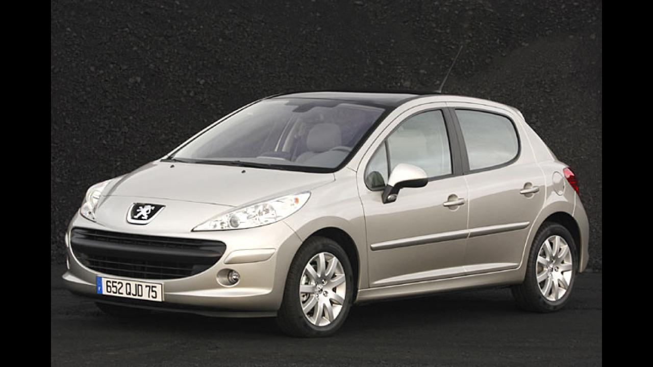 Preise für Peugeot 207