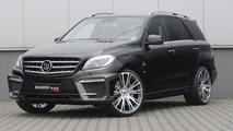 2012 Mercedes-Benz ML 63 AMG tuned by Brabus heading to Essen