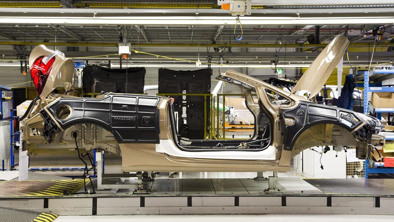 Opel Cascada production 01.3.2013