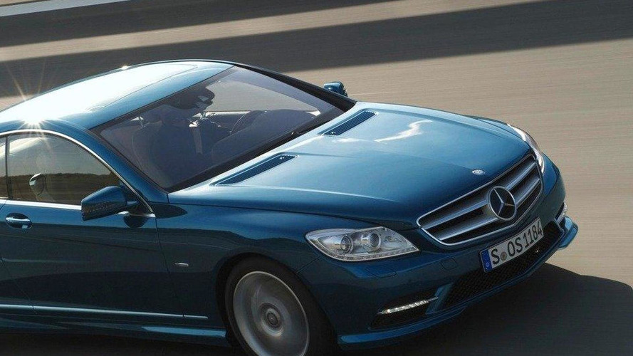 2011 Mercedes-Benz CL facelift revealed - public debut at Goodwood FOS 2010 [video]