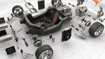 McLaren MP4-12C website screenshots