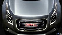 GMC Granite Urban Utility Concept Detroit Teasers