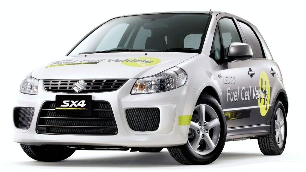 Suzuki SX4 Fuel Cell Vehicle Concept