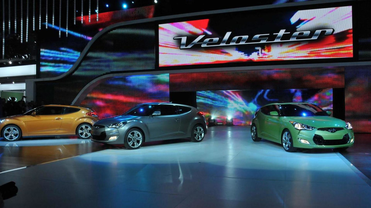 2012 Hyundai Veloster - 2011 NAIAS