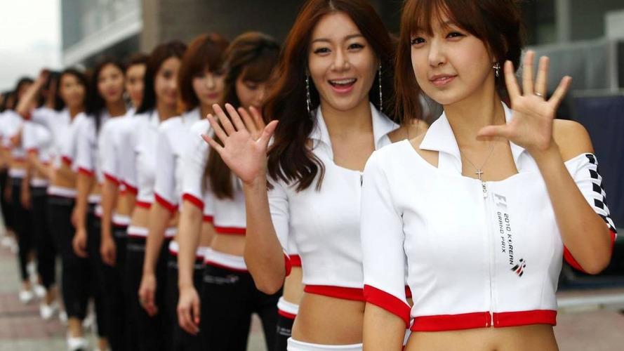 Delay for Korea GP safety car start