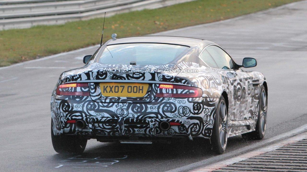 Aston Martin DBS facelift Nürburgring 21.10.2010