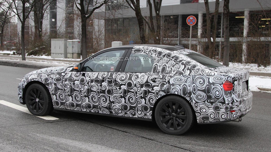 2012 BMW 3-Series spied showing new details