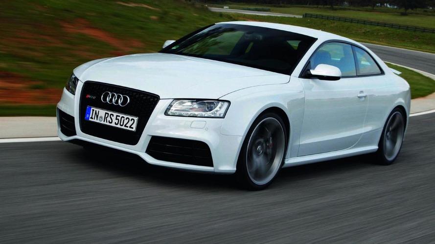 Audi RS5 confirmed for US; 2011 R8 Spyder 5.2 starts at $161K