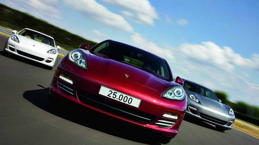 Porsche Pajun under development - report